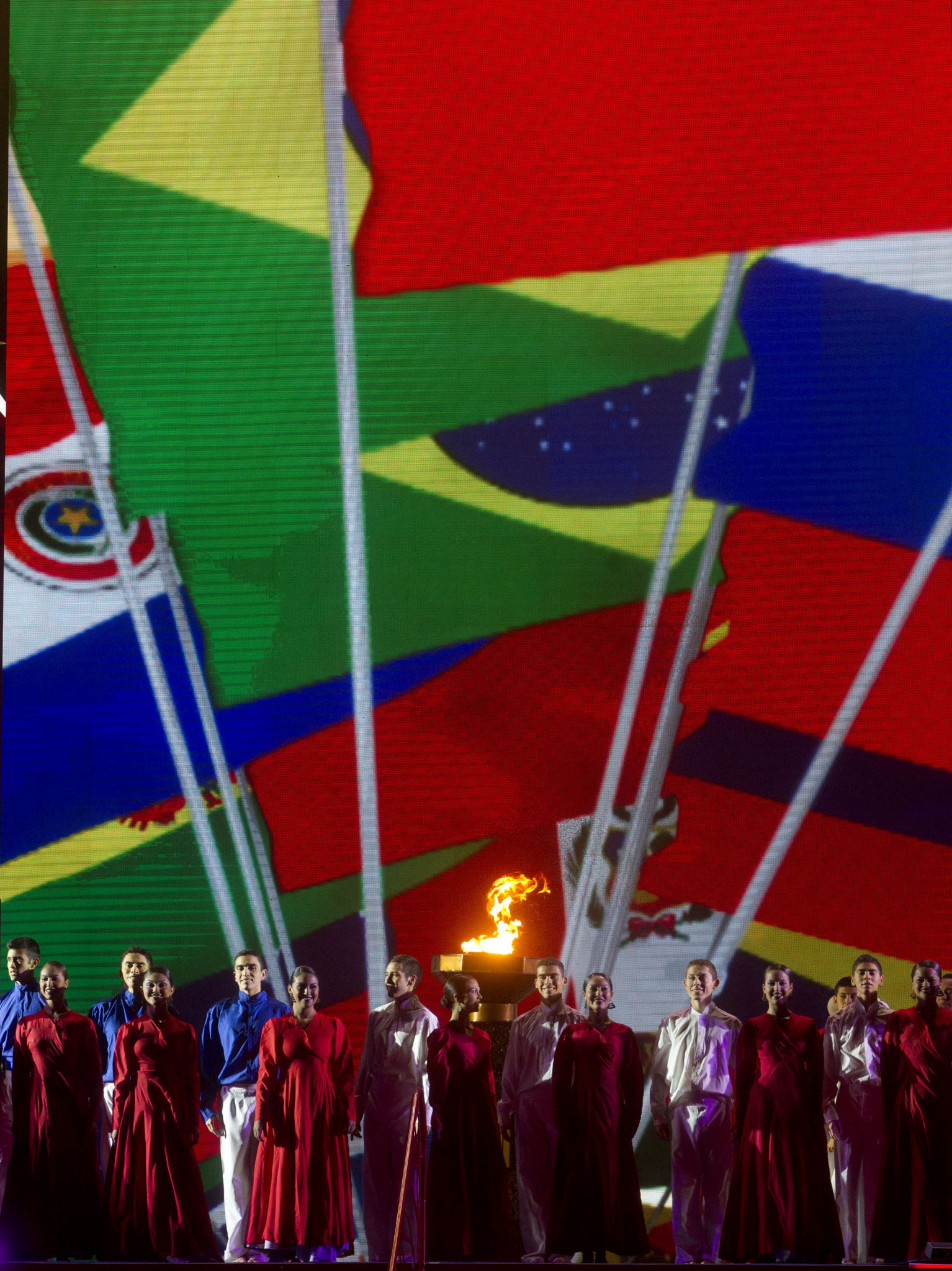 The last edition of the South American Games took place in Chile's capital Santiago in 2014 ©Getty Images