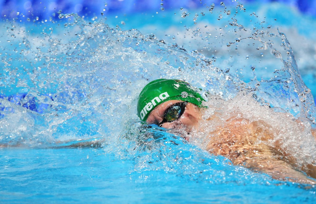 Myles Brown was among South African gold medal winners on the final day of action in the pool ©Getty Images