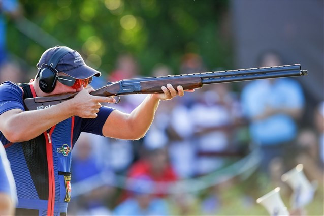 Slovakian retains men's trap world title after thrilling shoot-off at ISSF Shotgun World Championships