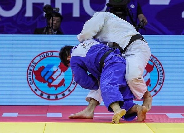 Sasaki stuns Olympic champion to clinch gold medal at IJF Grand Prix in Hohhot