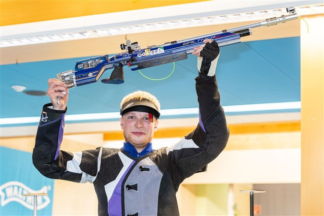 Belarus' Charheika secures maiden ISSF World Cup gold medal with 10m air rifle win