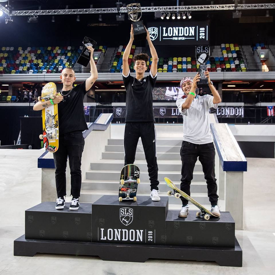 Debutant Soto upstages strong field to win women's event at SLS London Pro Open