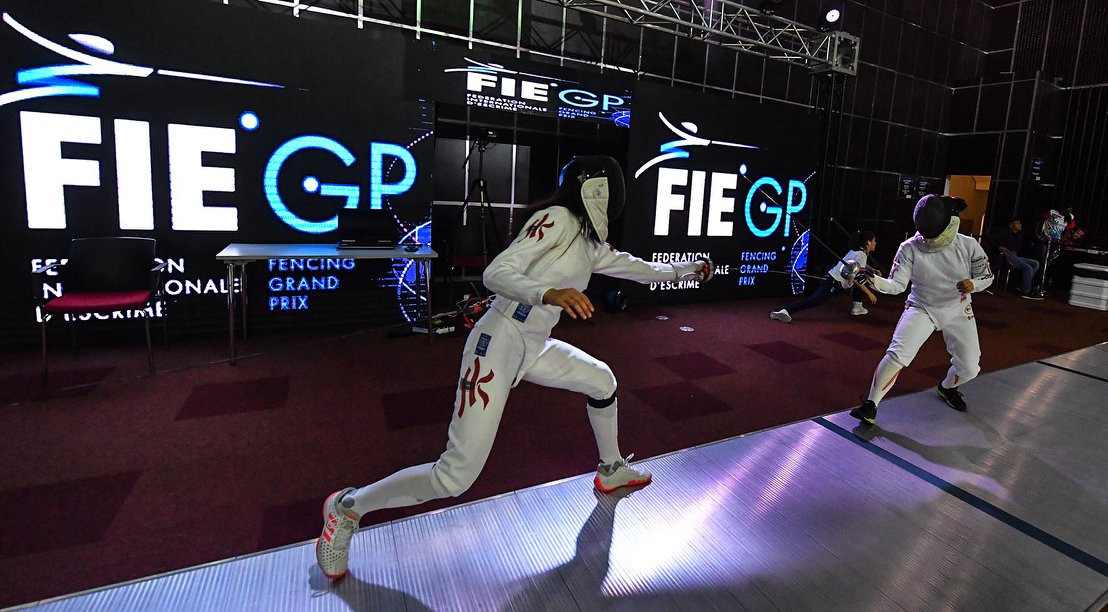 American Hurley has successful opening day at FIE Épée Grand Prix in Cali
