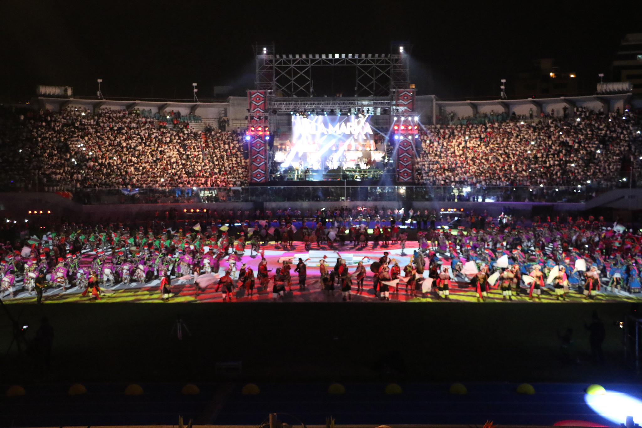 The South American Games began with the Opening Ceremony ©Panam Sports