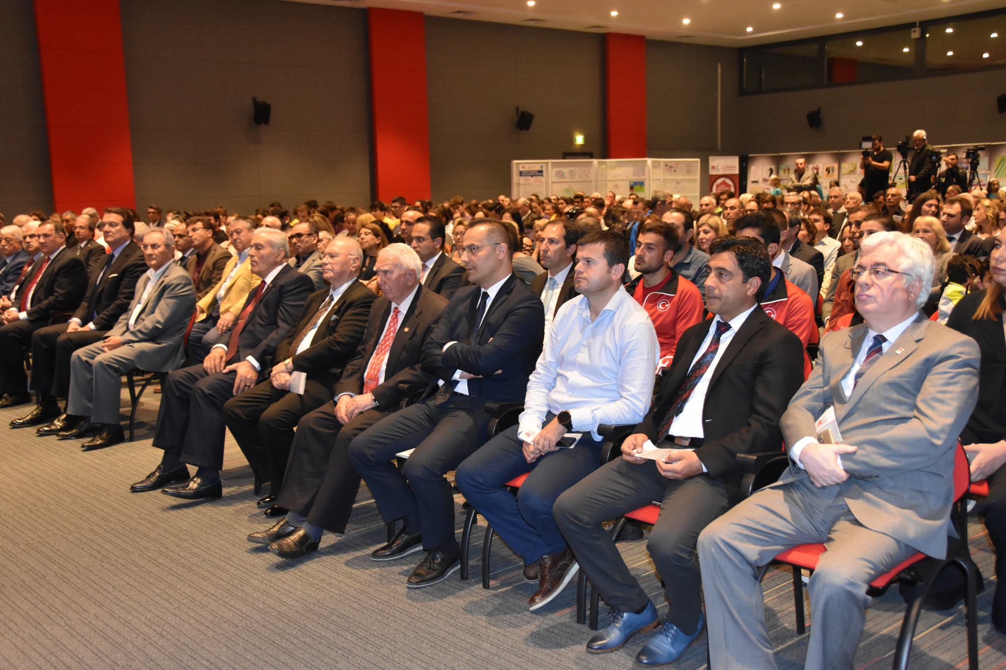 Greek weightlifter and wrestling coach among those honoured at Turkish Olympic Committee Fair Play Awards