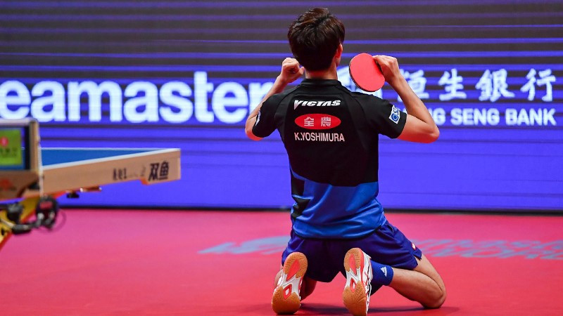 Yoshimura wins first ITTF World Tour title with victory at Hong Kong Open