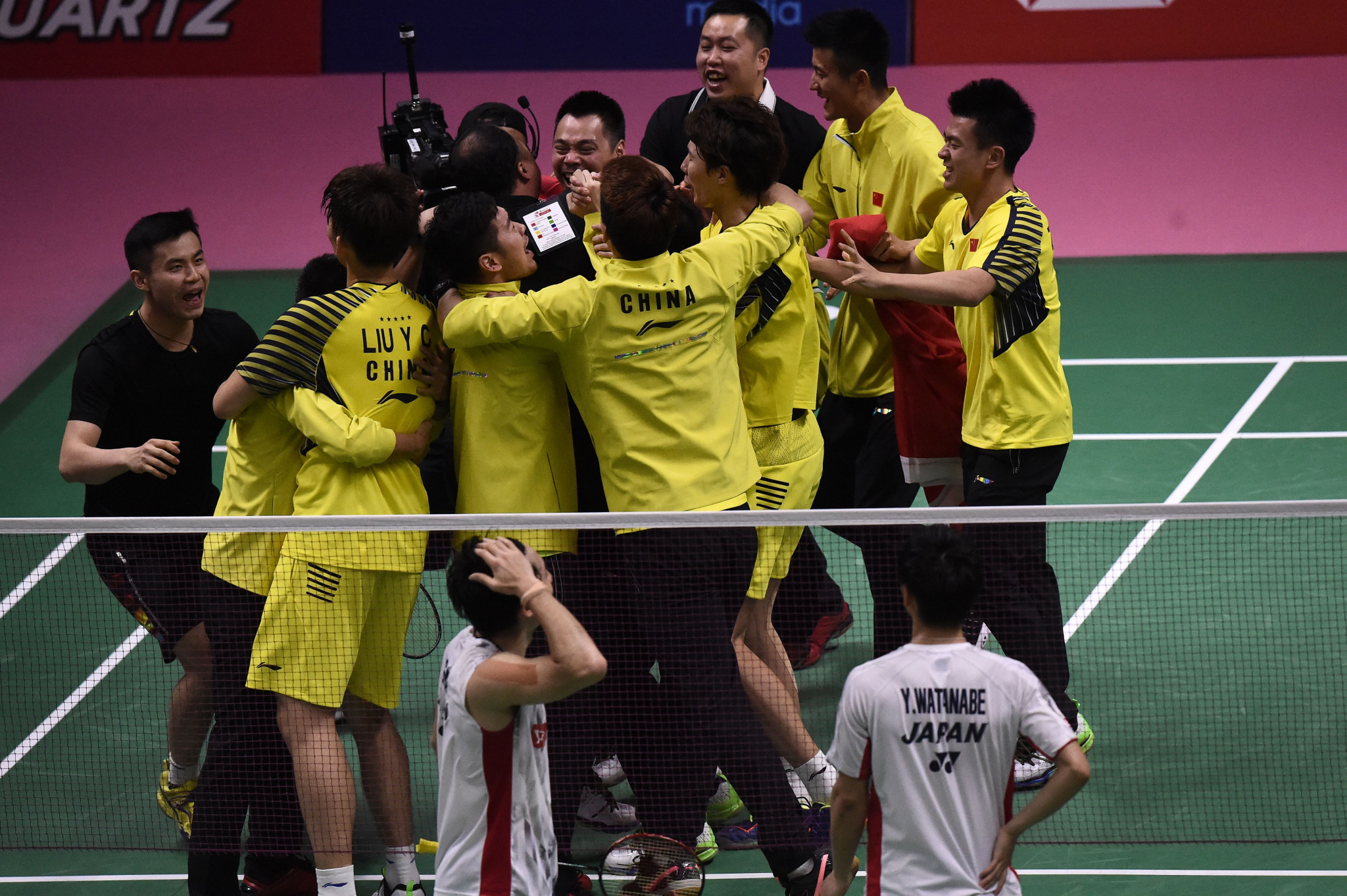 China beat Japan to win first BWF Thomas Cup in six years
