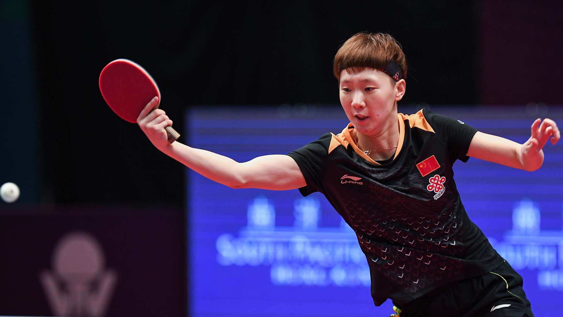 World number four Wang Manyu emerged victorious from an all-Chinese women's singles final as she beat compatriot Chen Xingtong ©ITTF
