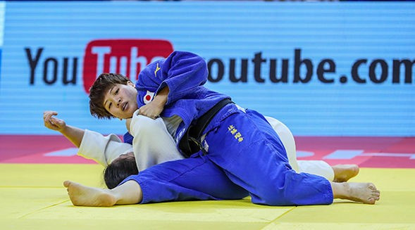 Sato beats reigning world champion on day of Asian domination at IJF Grand Prix in Hohhot