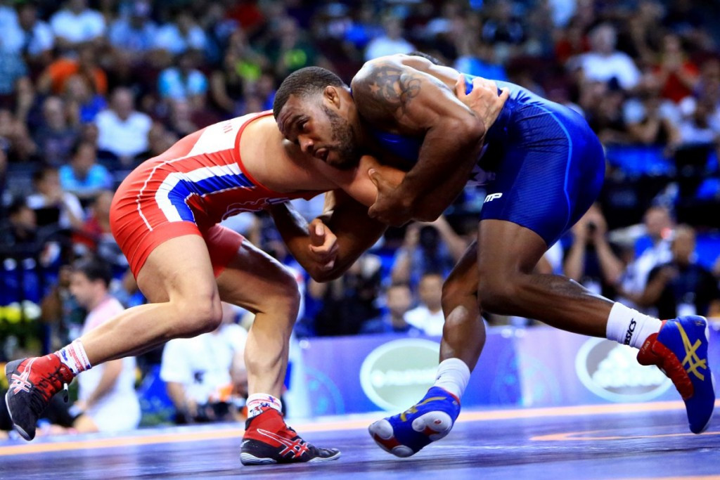 2015 Wrestling World Championships: Day six of competition