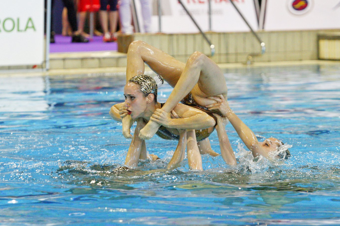 Two gold medals were won on the final day of competition ©FINA