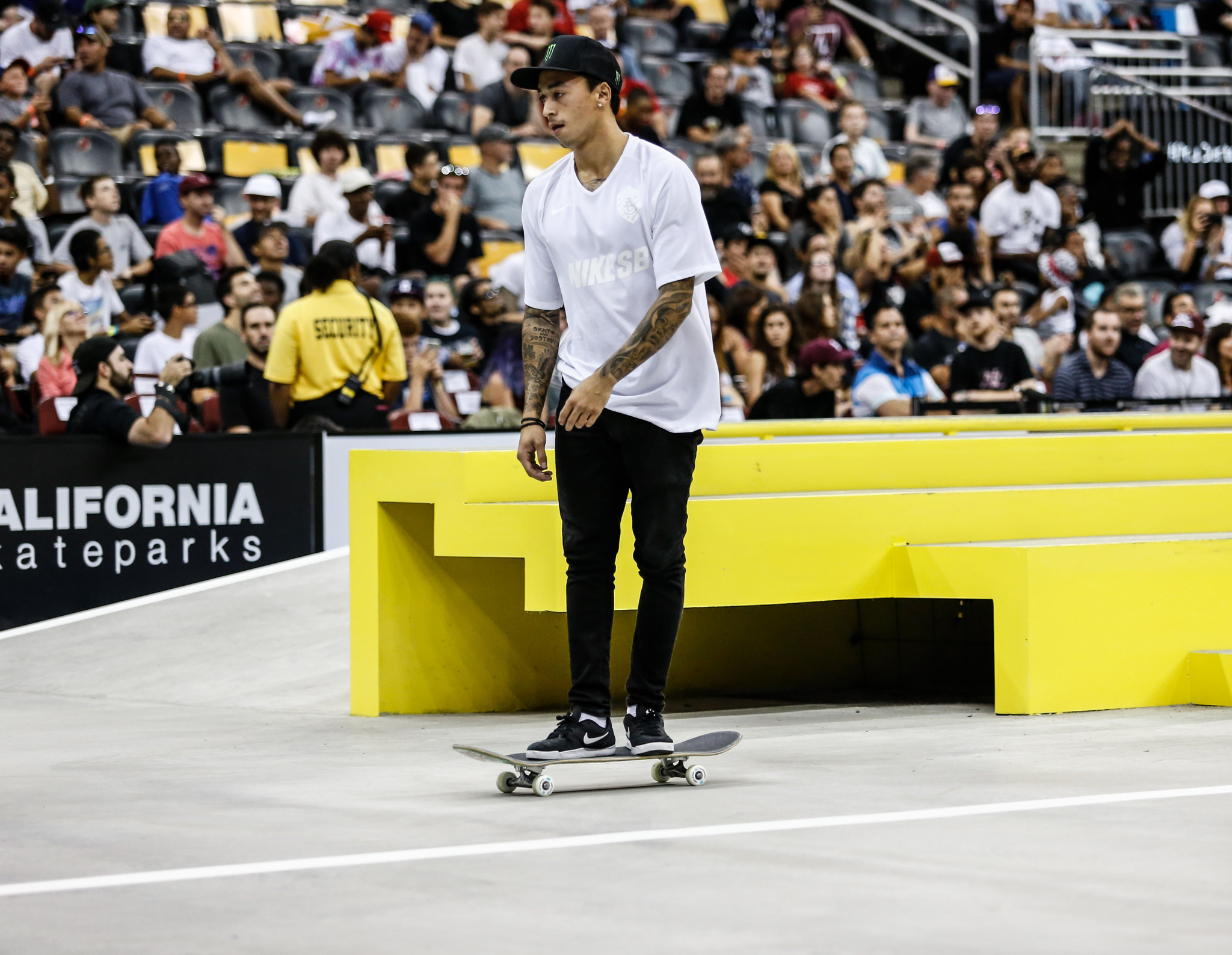 """Reigning world champion Nyjah Huston believes skateboarding's Olympic debut at Tokyo 2020 has been a """"long time coming""""  ©Getty Images"""