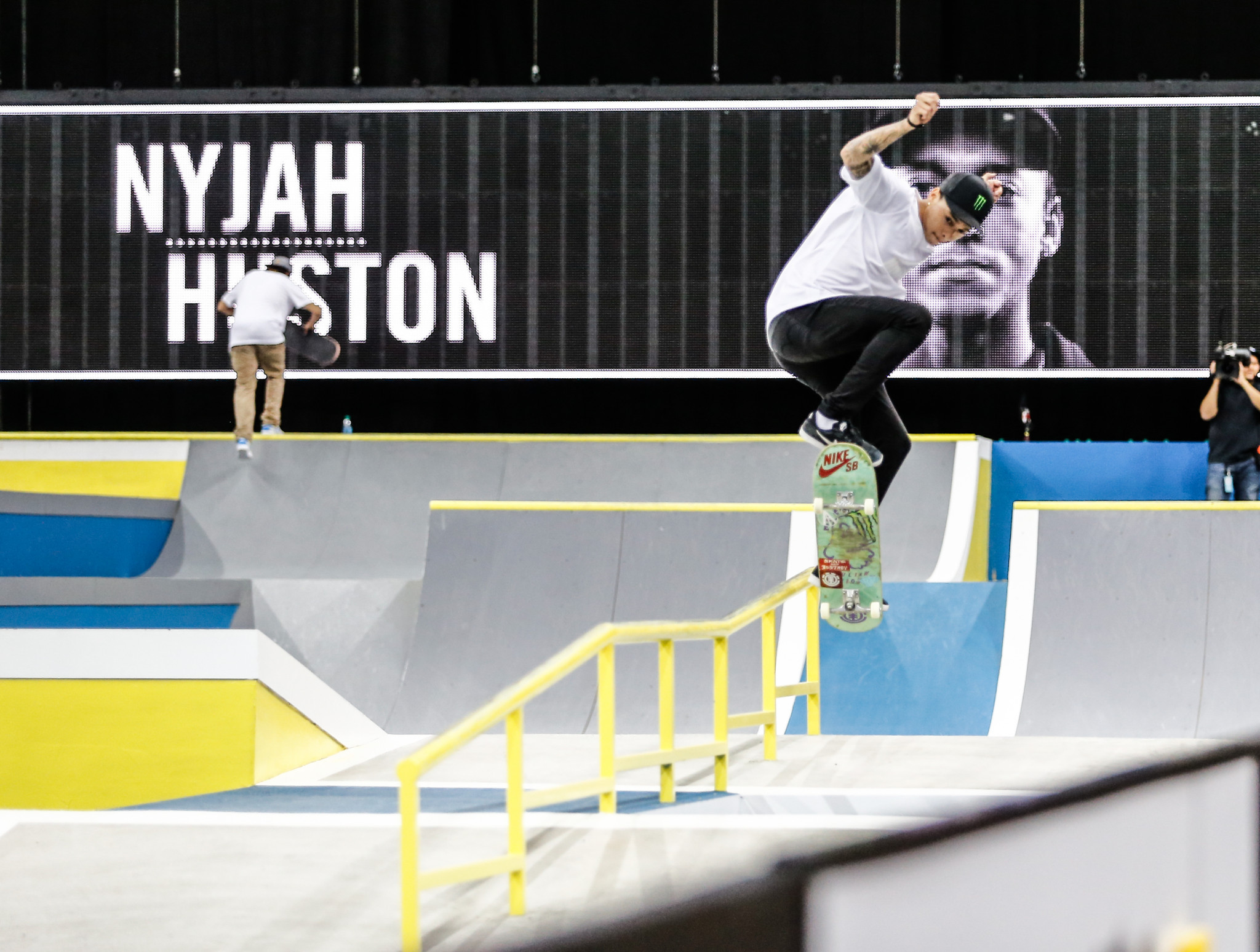 Nyjah Huston is one of the sport's most recognisable names and has won seven X Games gold medals ©Getty Images