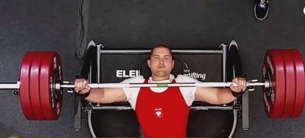 Poland's Marek Trykazc ended a run of near misses as he clinched the gold medal in the men's 65 kilograms category ©YouTube