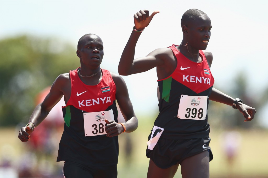 Willy Kiplimo Tarbei pipped compatriot Kipyegon Bett in the boy's 800m in what was one of the most intriguing races of the event