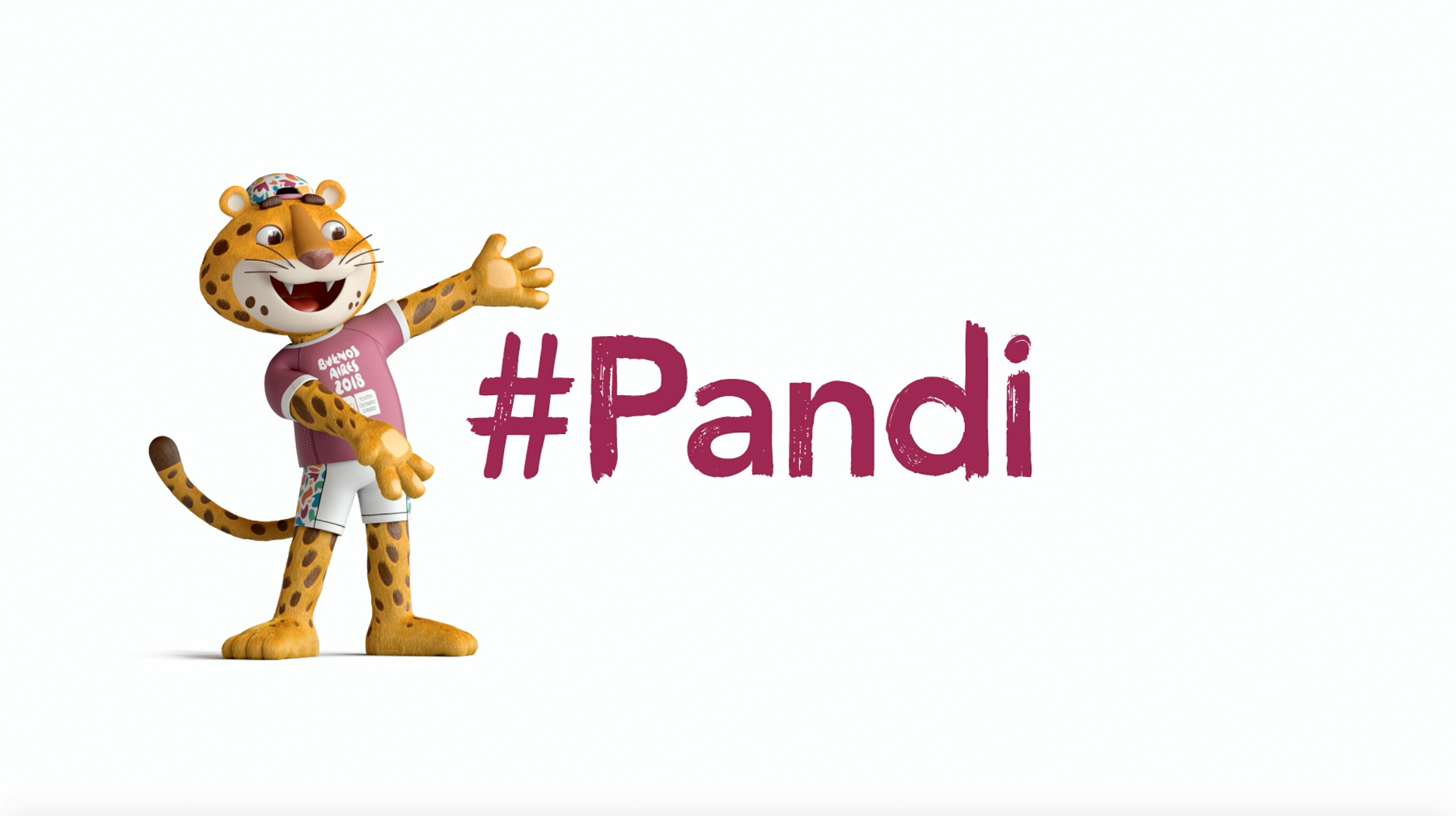 Buenos Aires 2018 unveils #Pandi the jaguar as official mascot