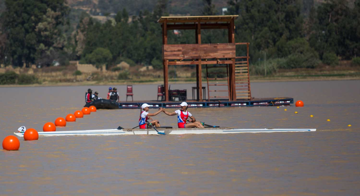 Rowing is among other sports featuring at the South American Games ©Cochabamba 2018