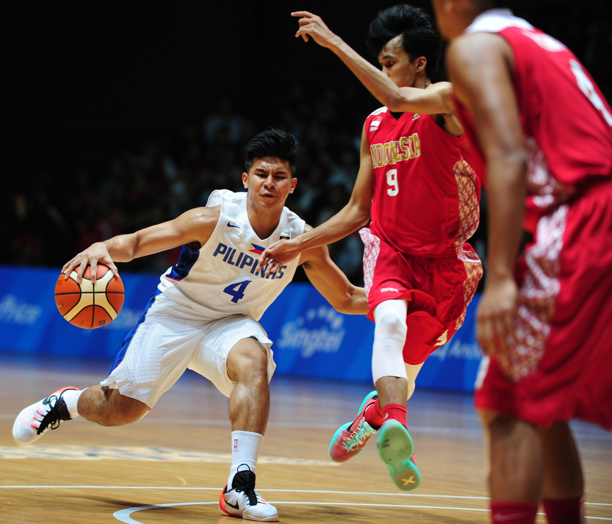 Kiefer Ravena pictured competing at the 2015 Southeast Asian Games ©Getty Images