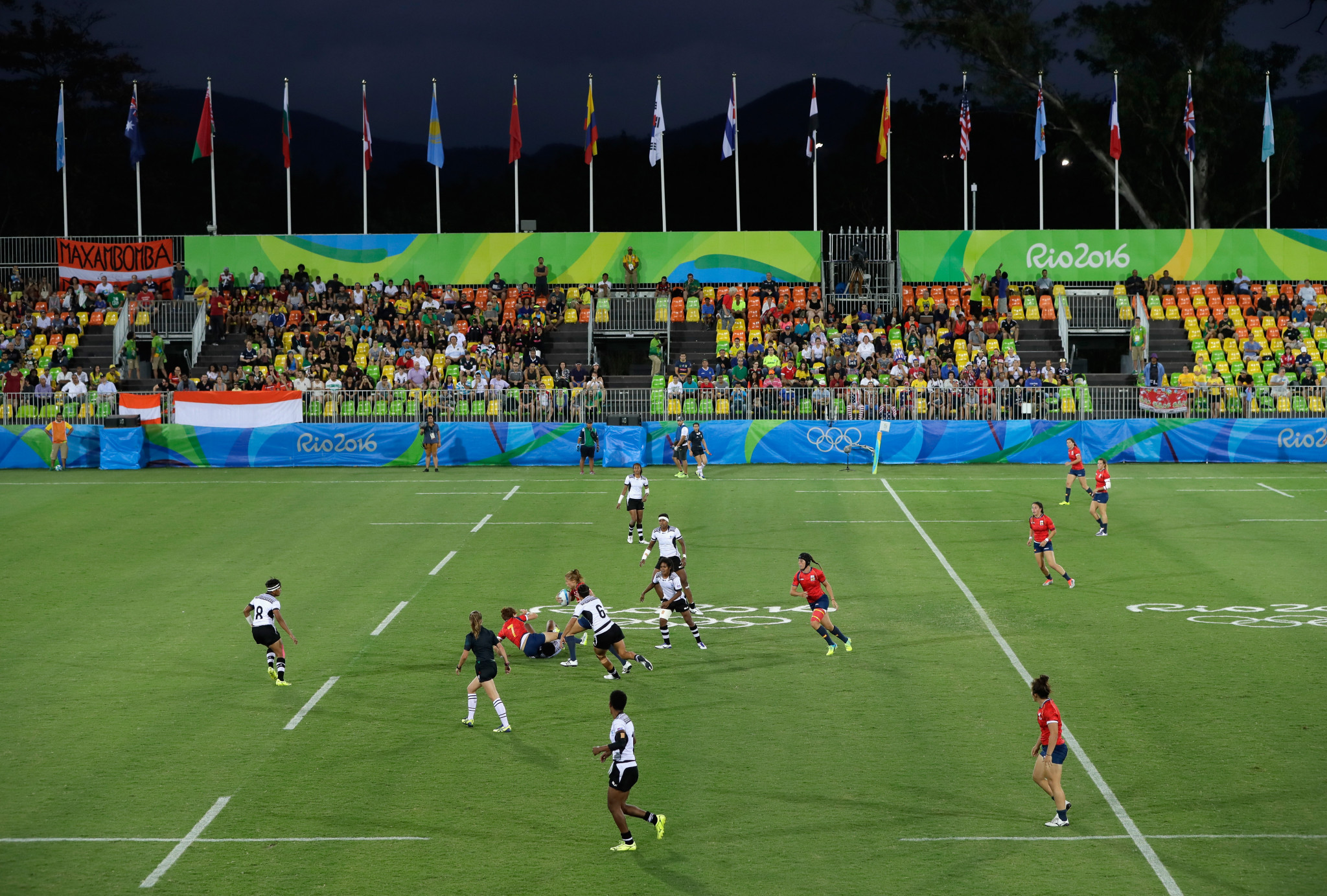Rugby sevens debuted at the Olympics in Rio in 2016, putting the sport under extra scrutiny ©Getty Images