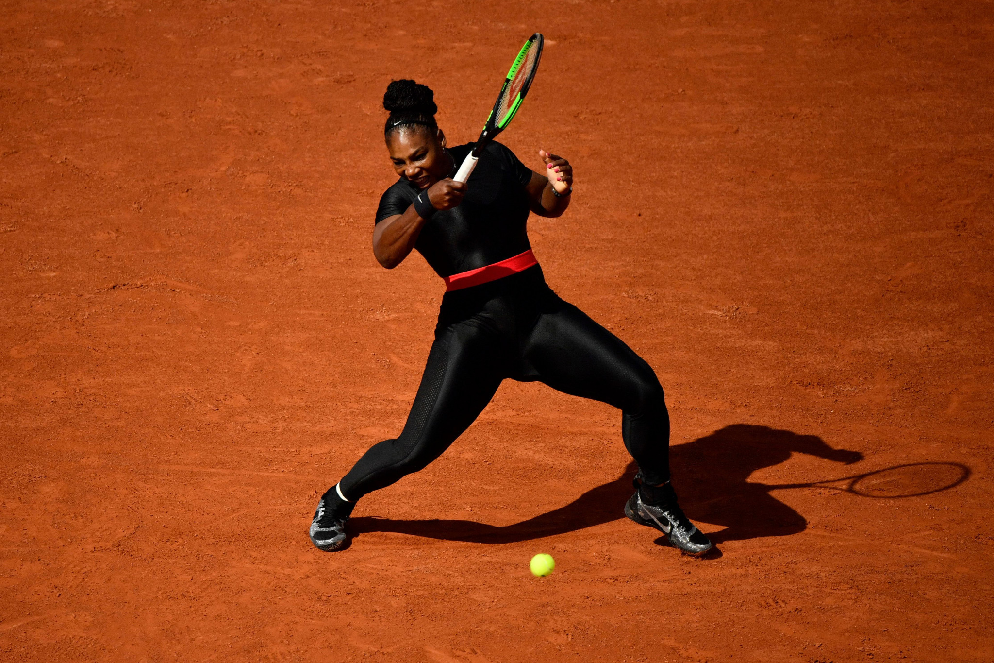 Serena Williams made a winning return to the Grand Slam stage ©Getty Images
