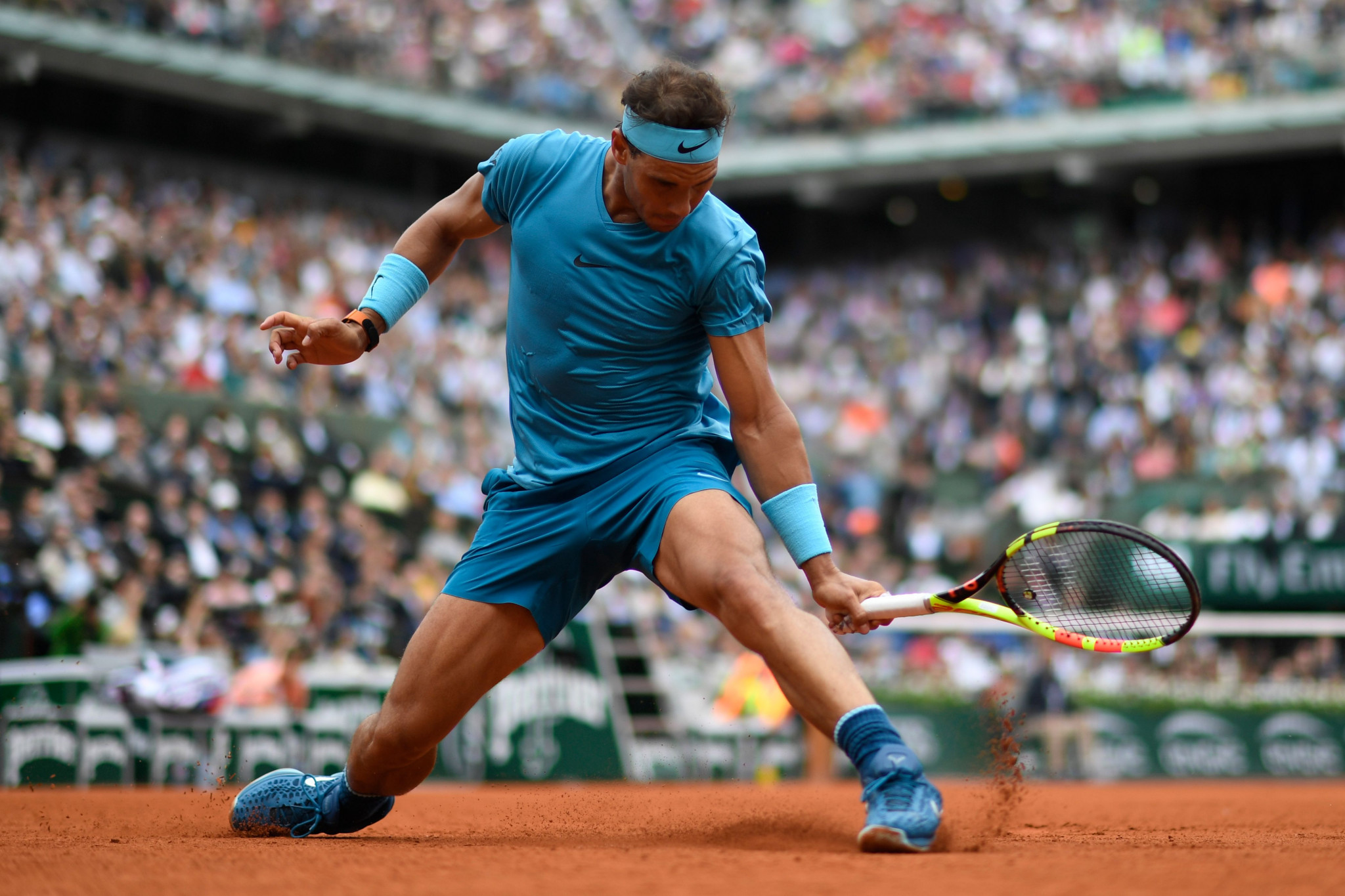 Rafael Nadal was taken to a tie-break before completing a straight-sets victory ©Getty Images