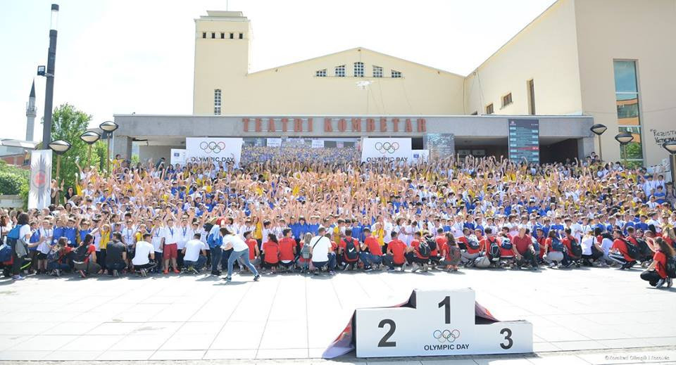 Kosovo celebrates Olympic Day in seven cities