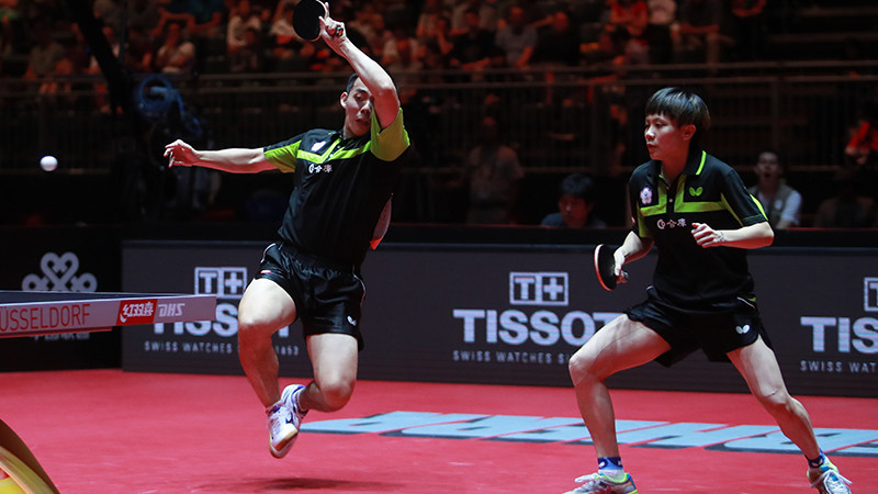 Mixed doubles will feature on the China Open programme before the event makes its Olympic debut at Tokyo 2020 ©ITTF
