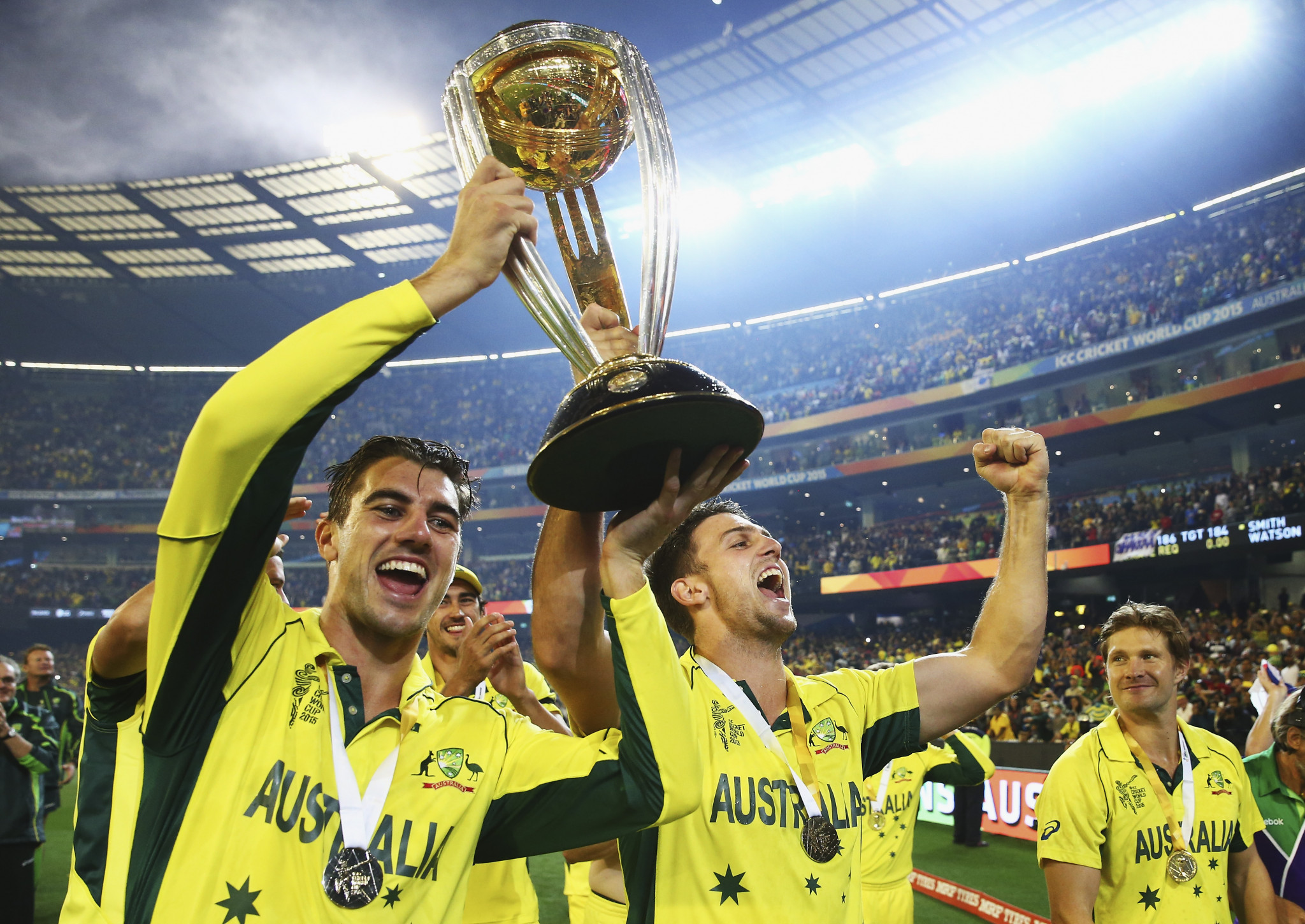 Australia triumphed at the 2015 event ©Getty Images