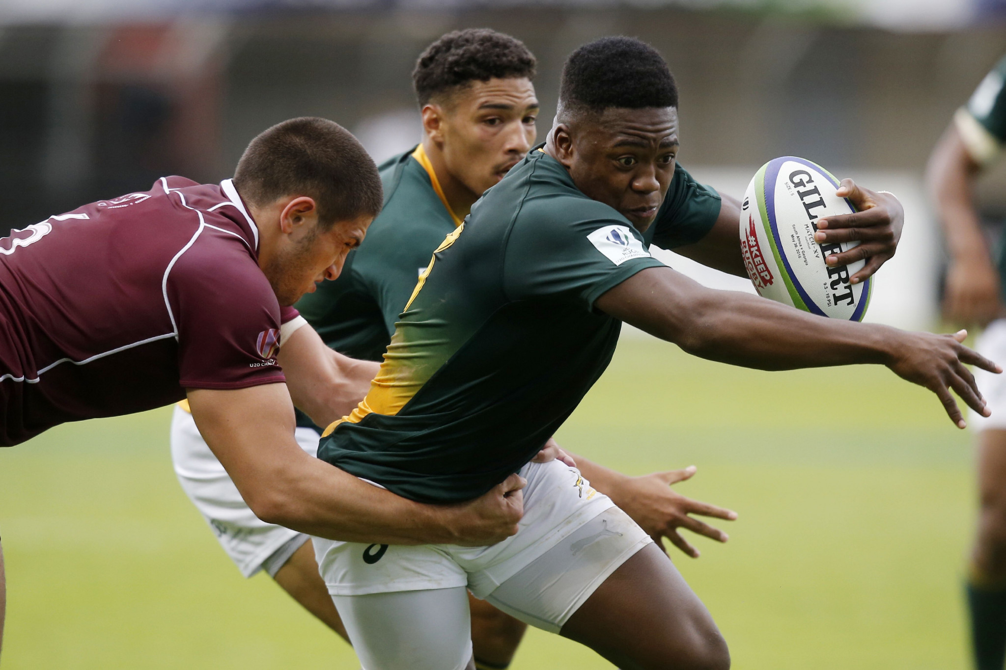 South Africa overcome tough Georgia challenge to open World Rugby Under-20 Championship