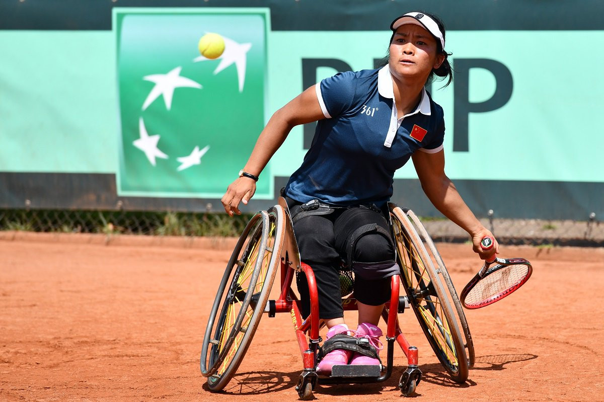 Defending women's champions beat Japan at Wheelchair Tennis World Team Cup