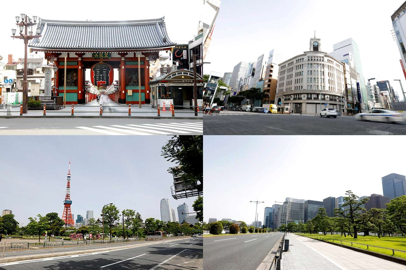 Tokyo have included numerous landmarks on the route for the marathon ©Tokyo 2020