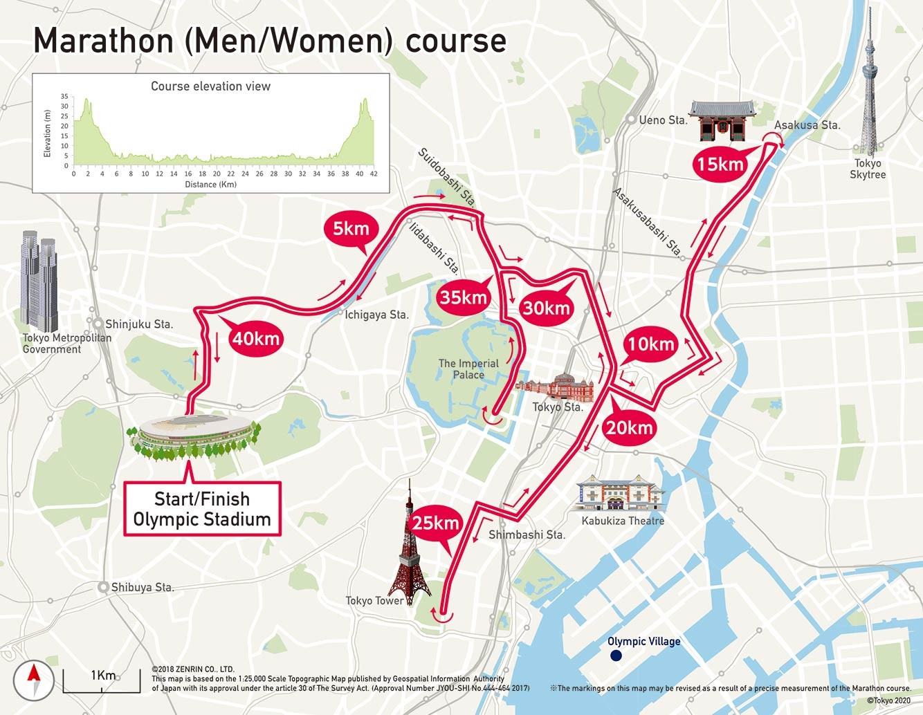 "Olympic marathon course to highlight ""essence"" of Tokyo as route announced"