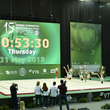FIG President claims aerobic gymnastics will reach new level at World Championships in Guimarães