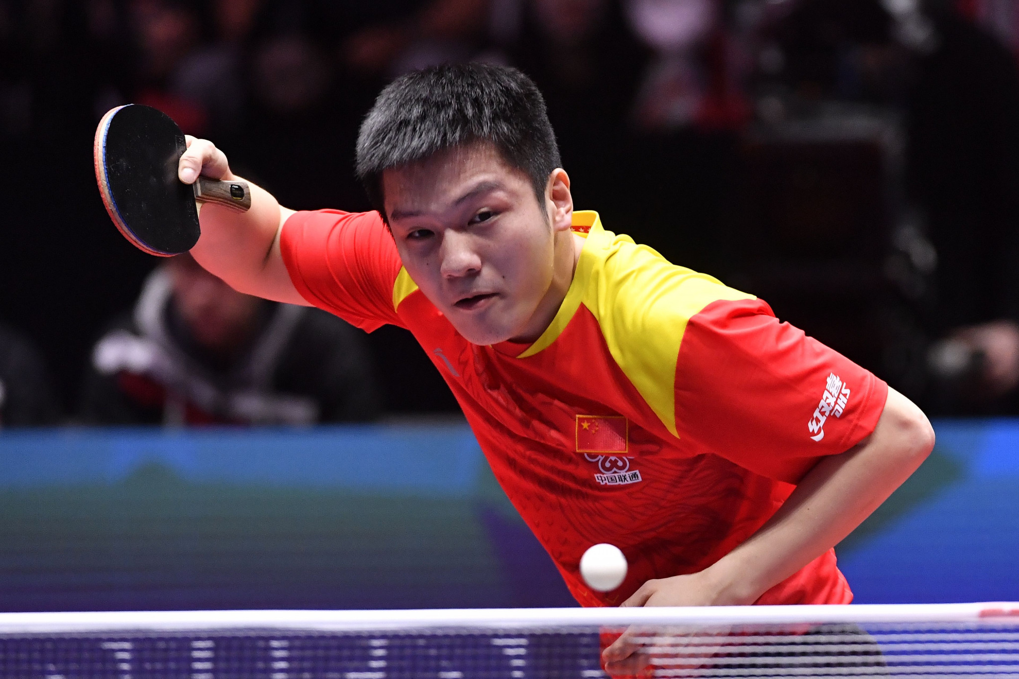 China's Fan Zhendong booked his place in the second round ©Getty Images