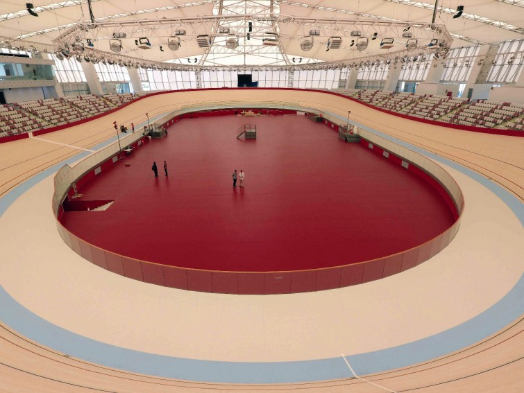 Organisers announce completion of Asian Games velodrome in Jakarta