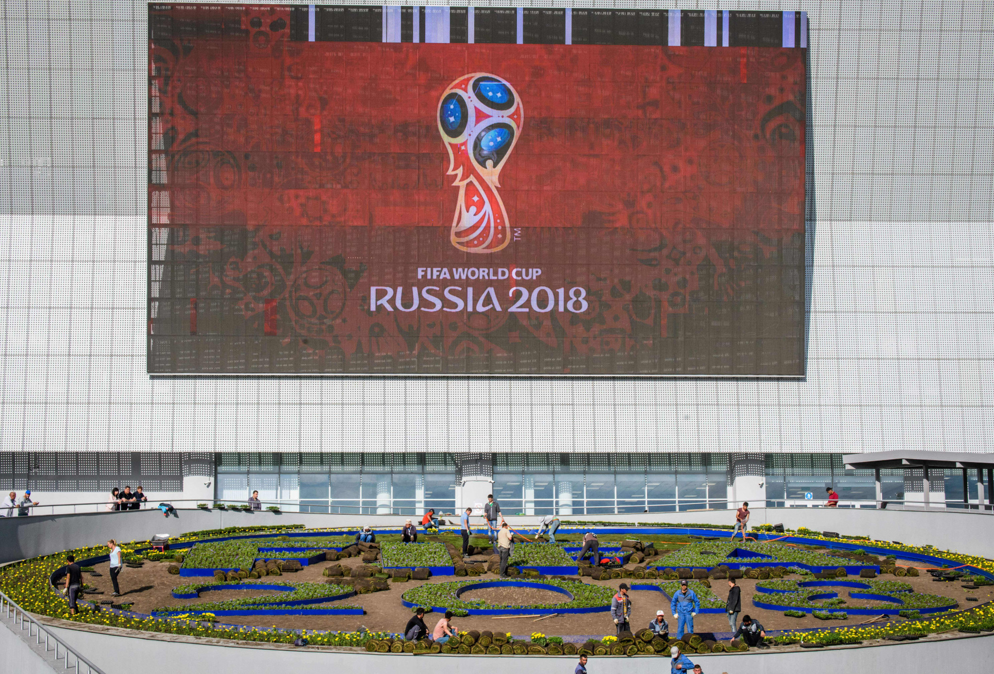Fans will be able to head to the FIFA World Cup through Belarus without a visa ©Getty Images