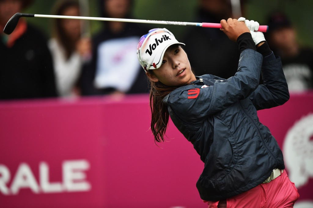 Mi Hyang Lee remains on course to win first major title at Evian Championships