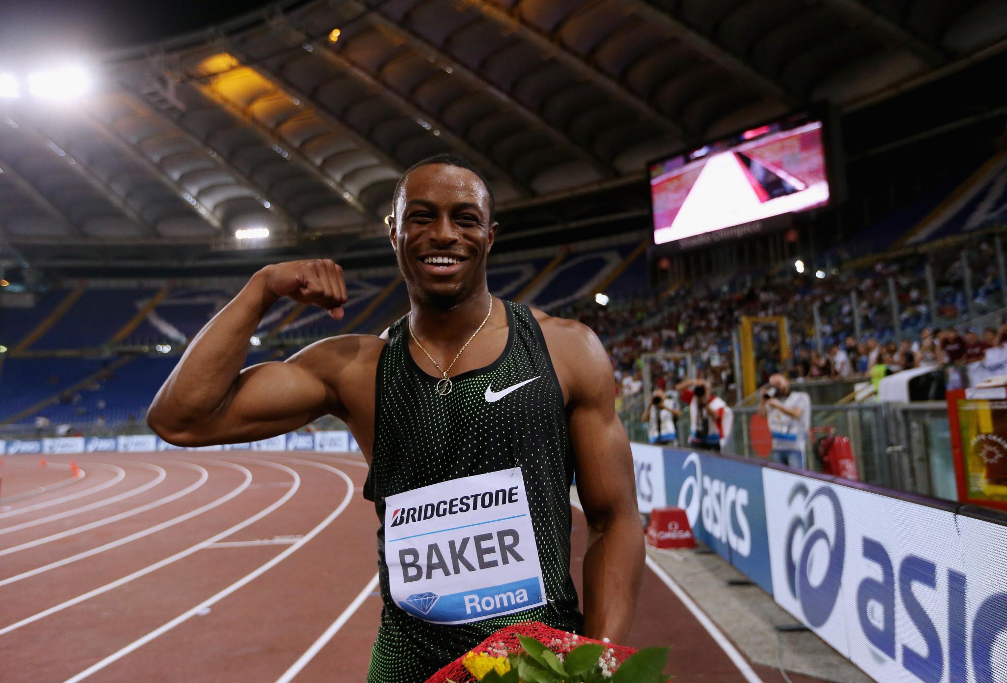 Baker earns more 100 metres glory on night of top performances in IAAF Rome Diamond League