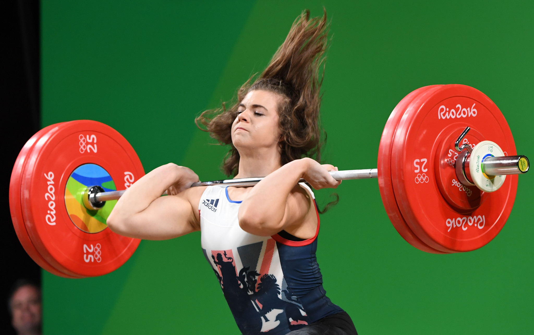 Rebekah Tiler has given up weightlifting after funding was cut ©Getty Images