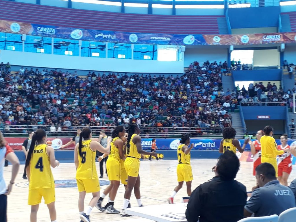 Colombia beat Peru 90-44 today to clinch the women's basketball gold medal at the 2018 South American Games in Cochabamba in Bolivia ©Cochabamba 2018