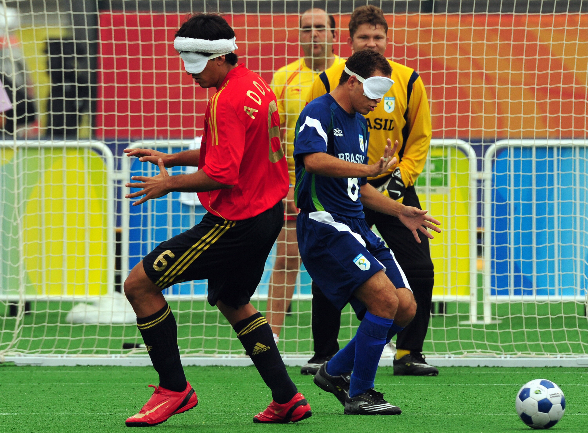 Spain are targeting ending Brazil's domination of blind football by winning the World Championships on home soil ©Getty Images