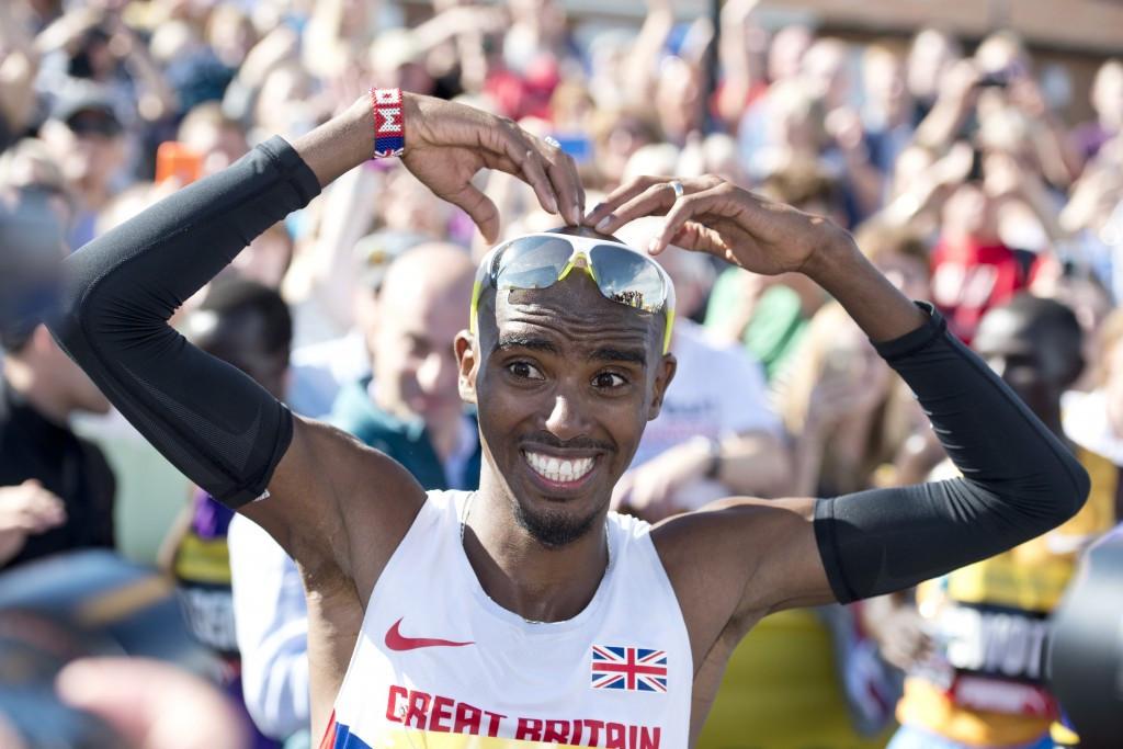 Farah breaks European record as he and Keitany retain Great North Run titles