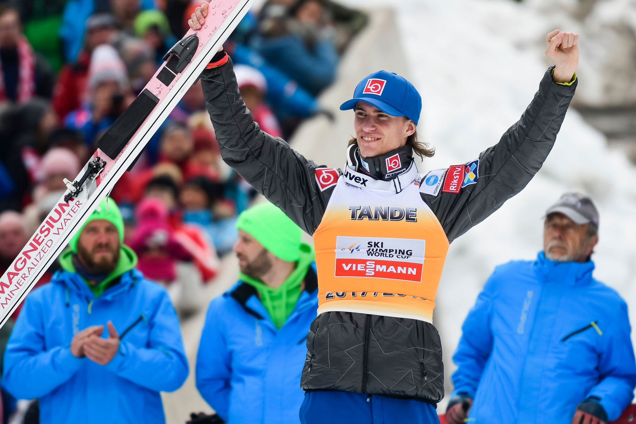 Olympic ski jumping champion Tande reveals battle against rare disease
