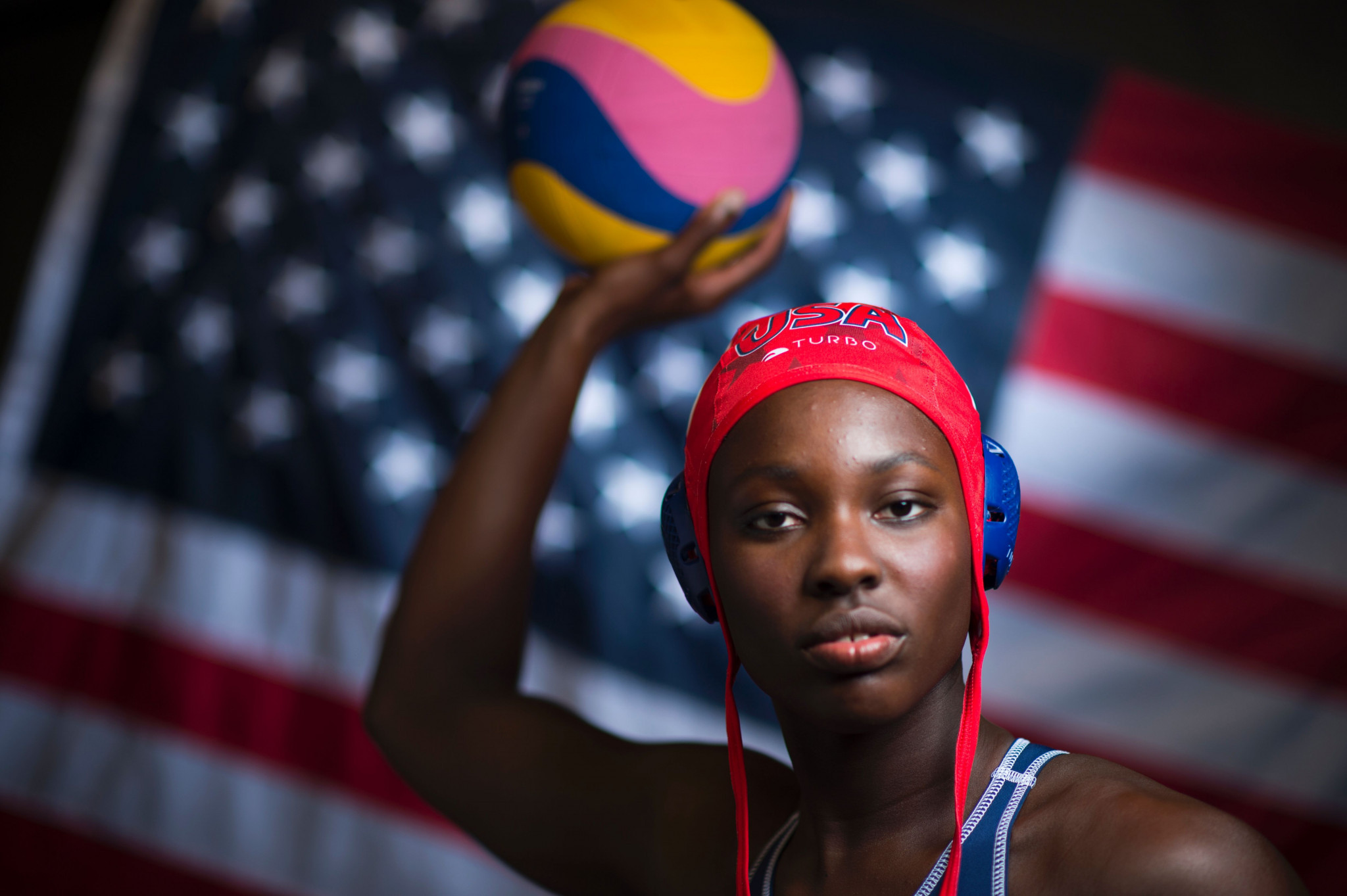 Ashleigh Johnson had a fine game in goal for the United States ©Getty Images