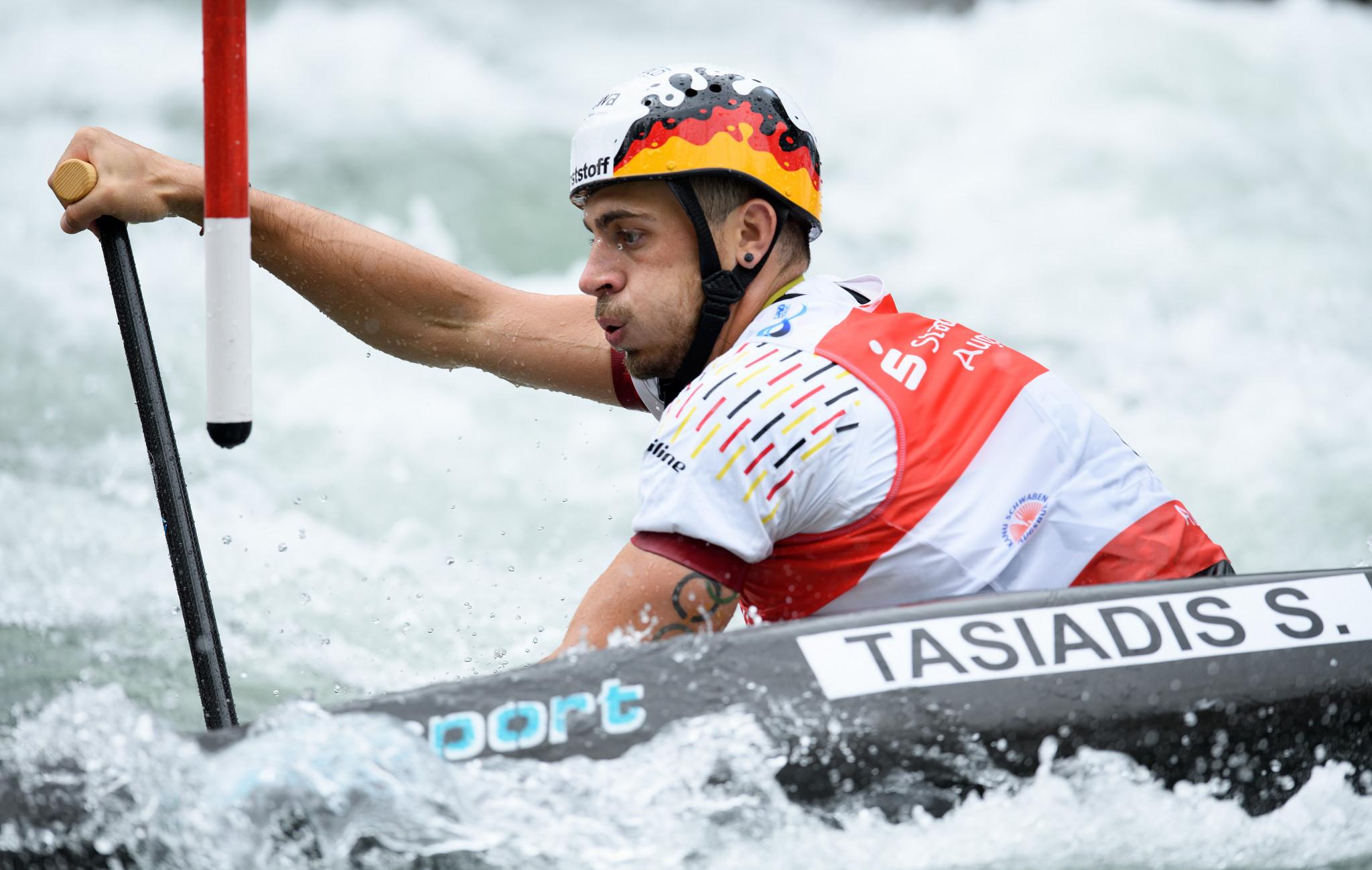 Tasiadis among C1 qualifiers as Canoe Slalom European Championships begin in Prague
