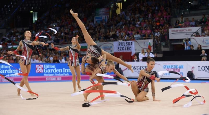 Italy end Russia's bid for a clean sweep of golds as Rhythmic Gymnastics World Championships draw to a close