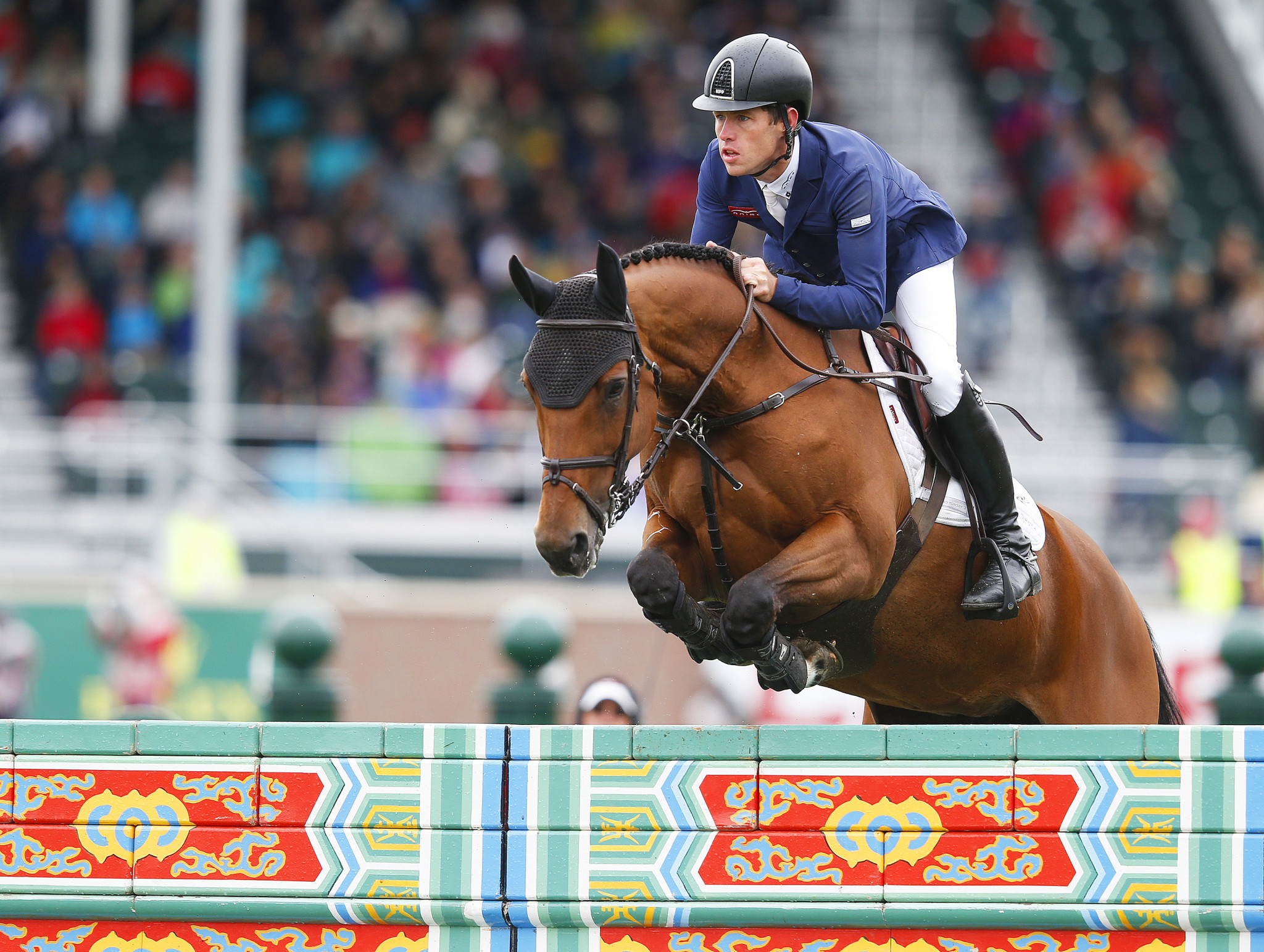 Britain's Scott Brash currently heads the overall series standings ©Getty Images