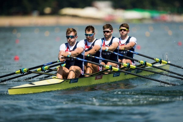 Great Britain through to men's quadruple sculls final at World Rowing Cup in Belgrade