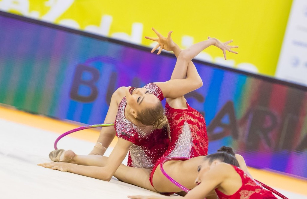 Bulgaria top five hoops qualification standings at European Rhythmic Gymnastics Championships