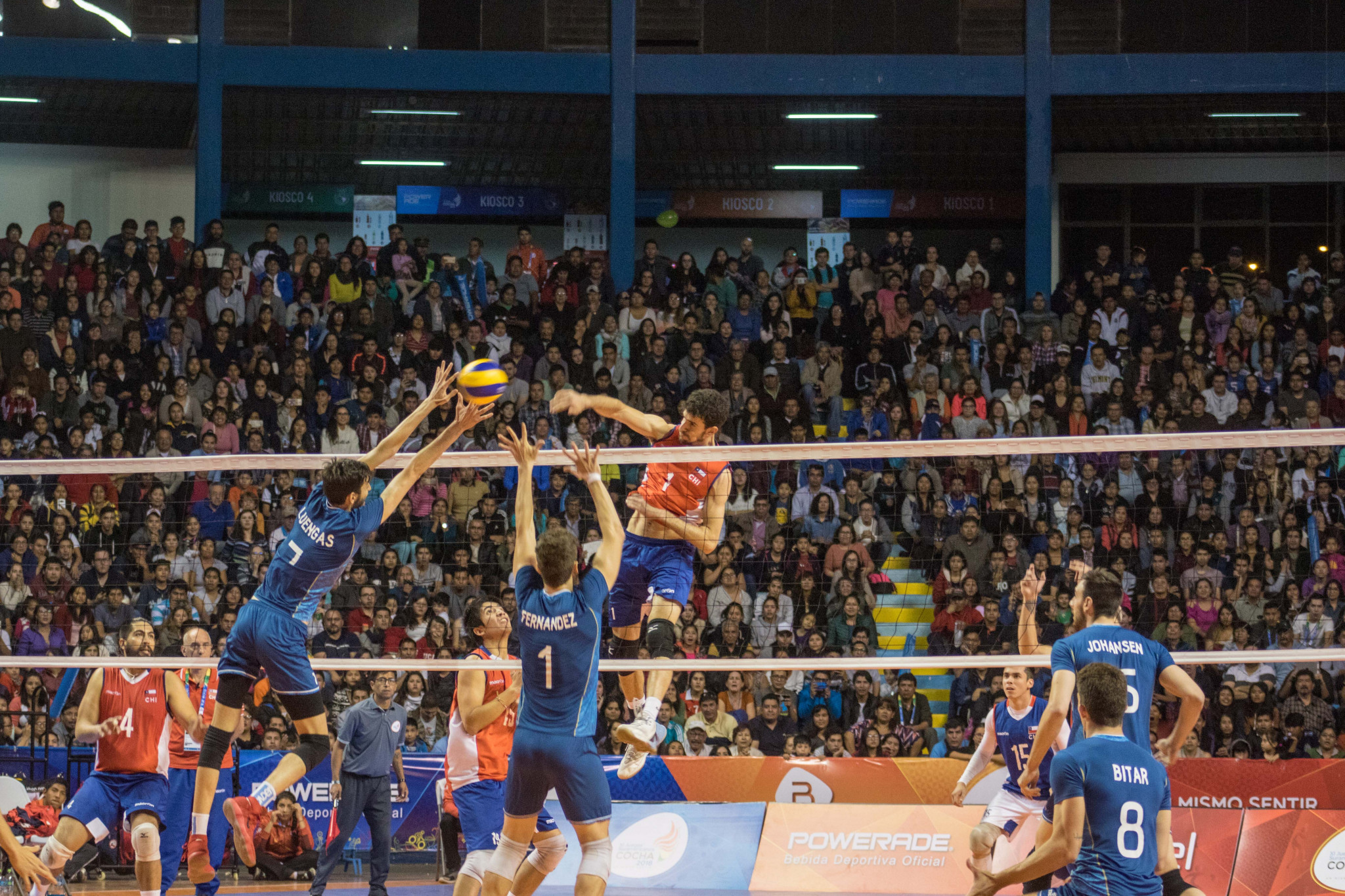 Argentina claimed the men's volleyball title at the 2018 South American Games after beating Chile in today's final in Cochabamba in Bolivia ©Cochabamba 2018